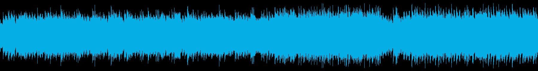 ピアノソロ/悲しい/少しの希望/ループの再生済みの波形