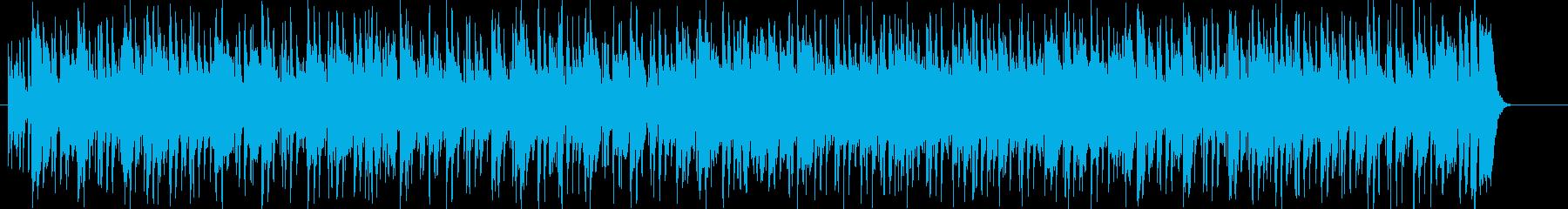 緊張 雑踏 追跡 ワイルド スリルの再生済みの波形