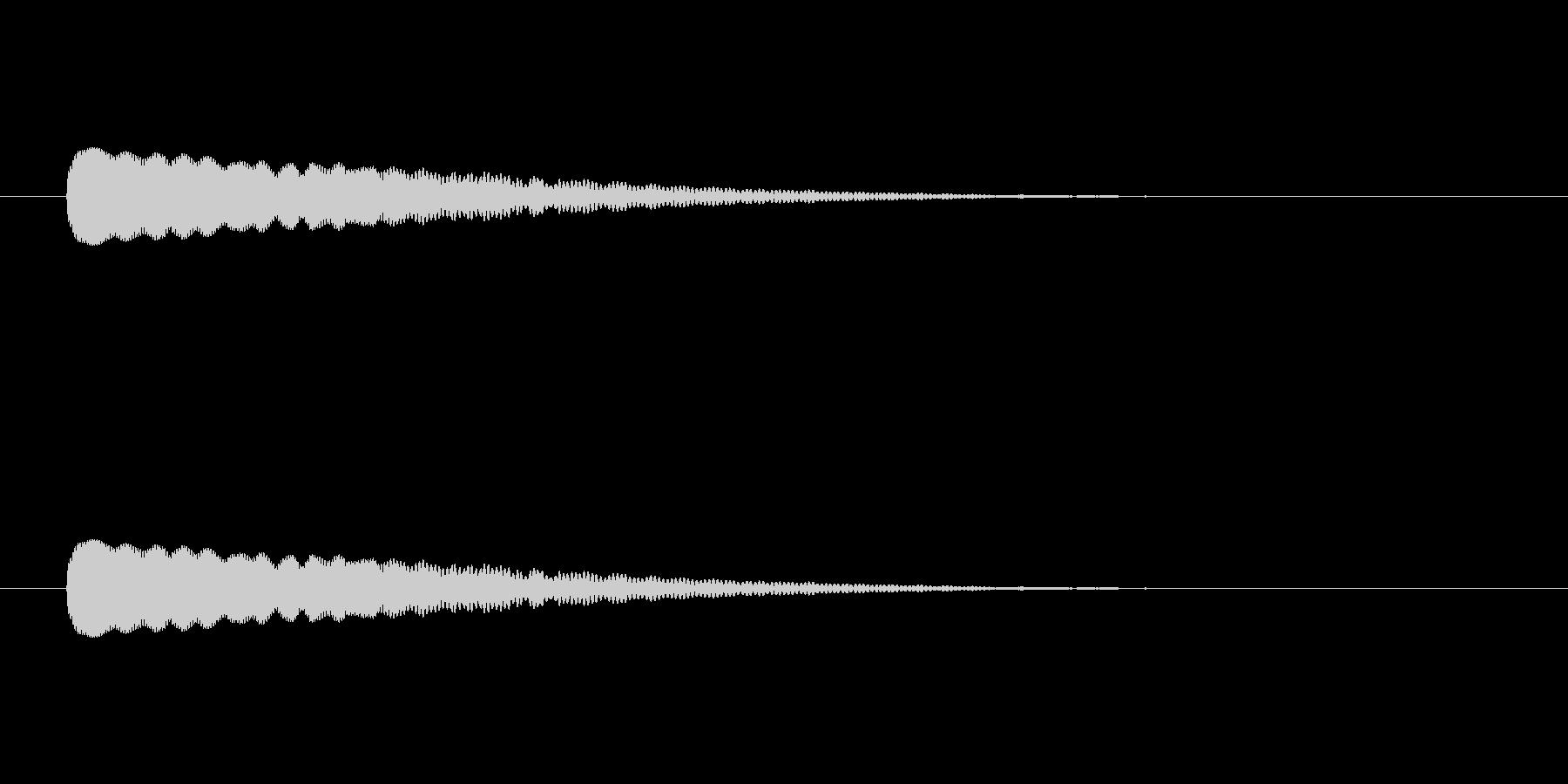 【光る04-3】の未再生の波形