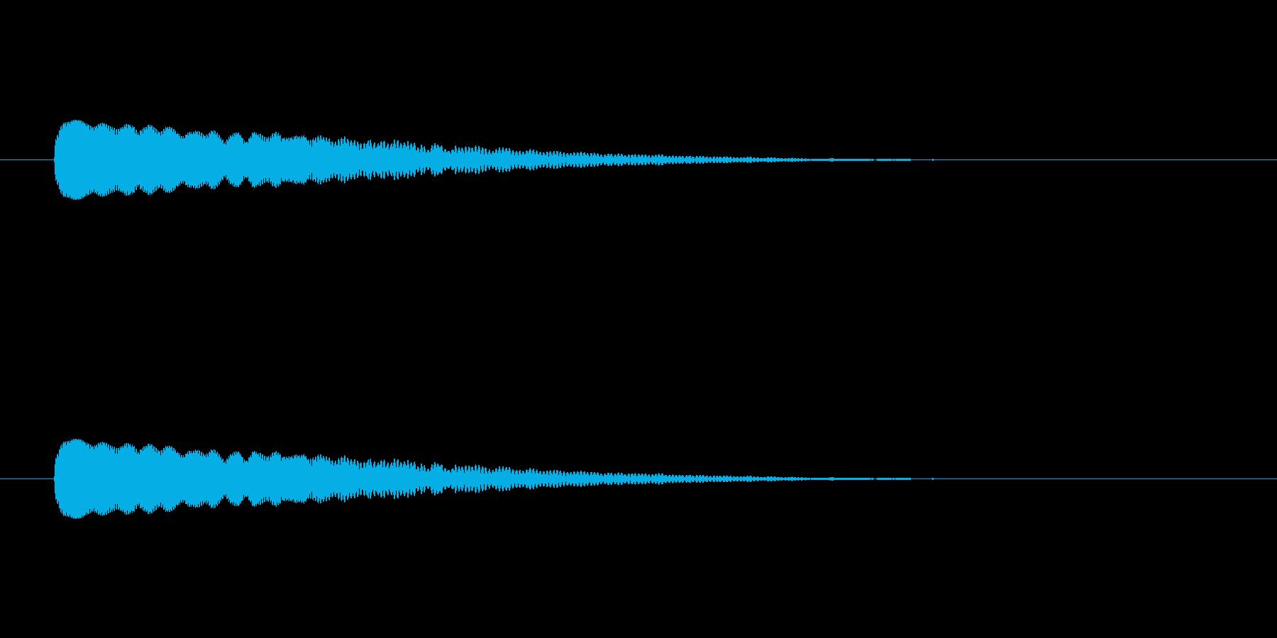 【光る04-3】の再生済みの波形