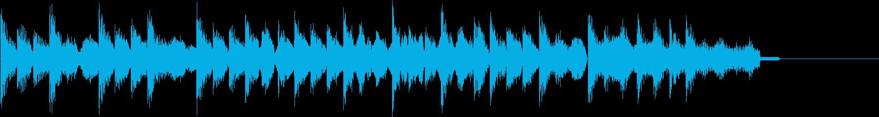 レトロゲーム風・ステージクリア#4の再生済みの波形