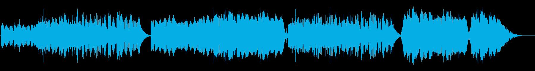 深い安らぎの癒し系クラリネットの再生済みの波形