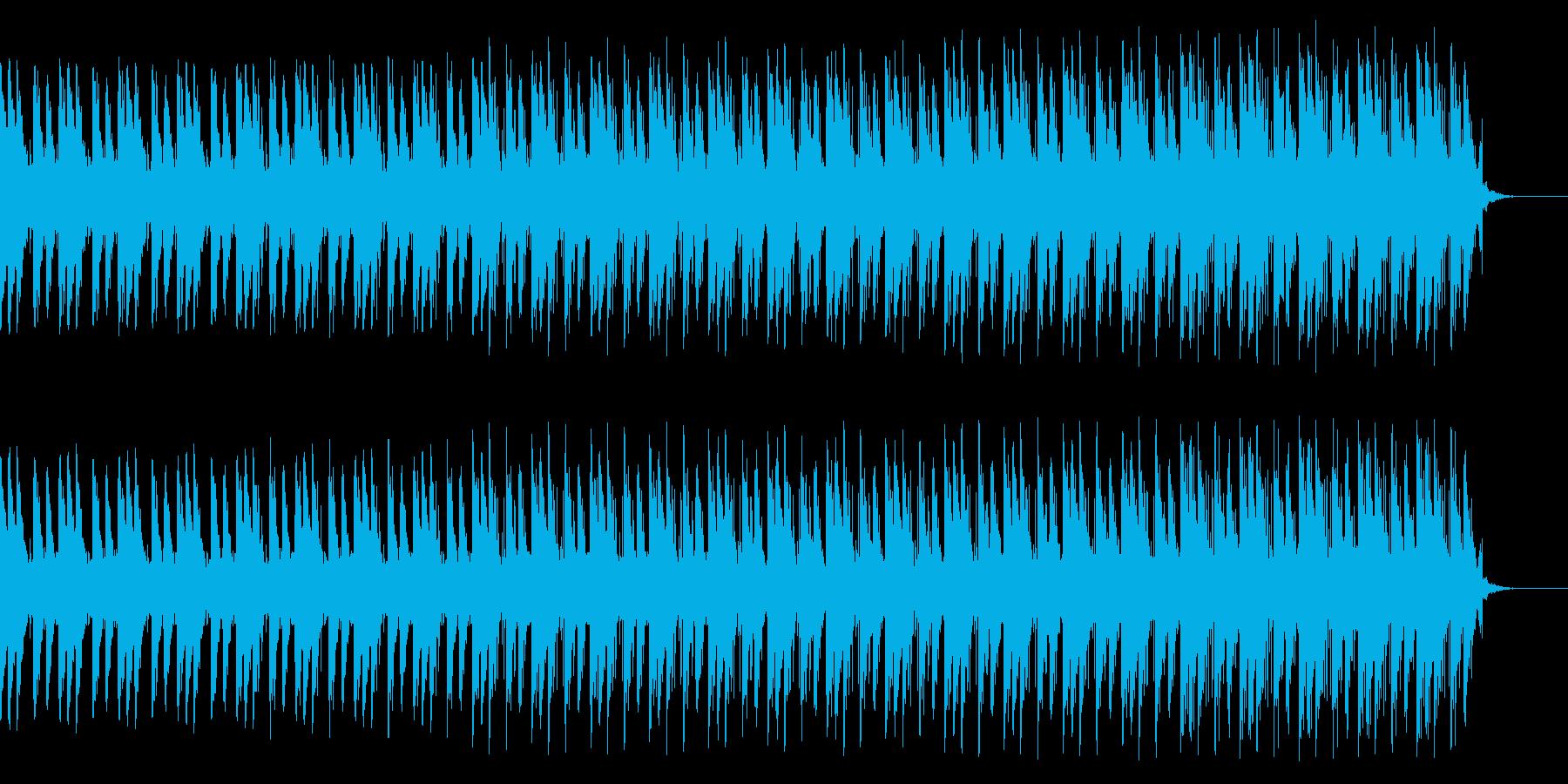 先進的な速い曲ですの再生済みの波形
