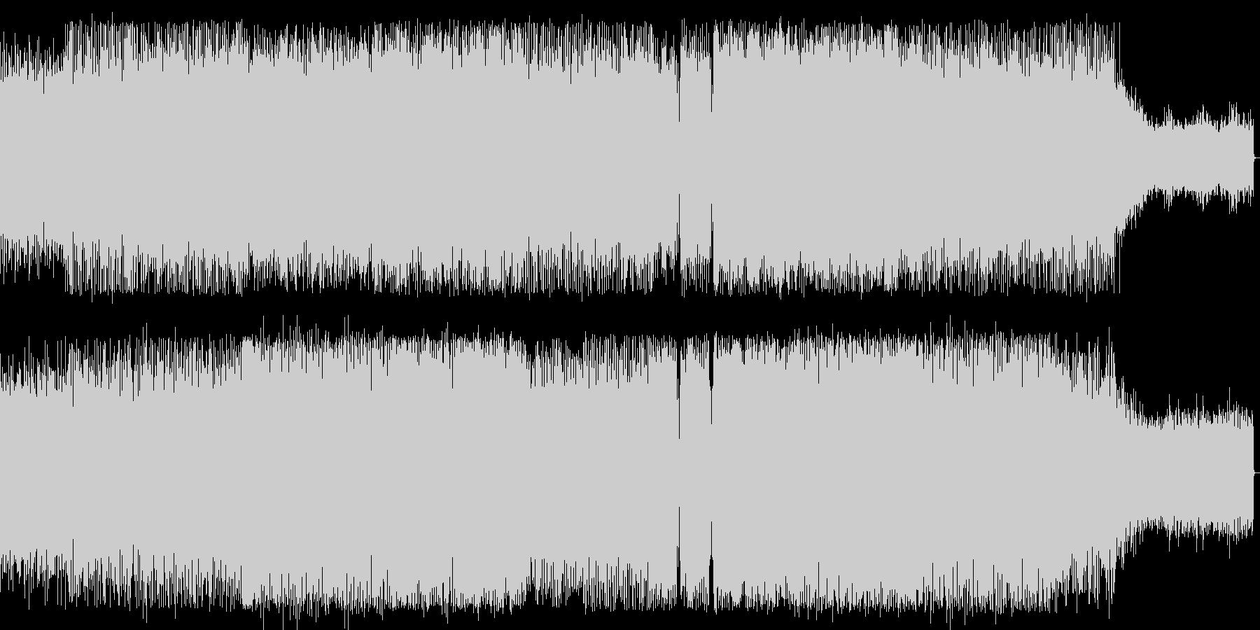 宇宙感のシンセサイザーなどハウス系EDMの未再生の波形