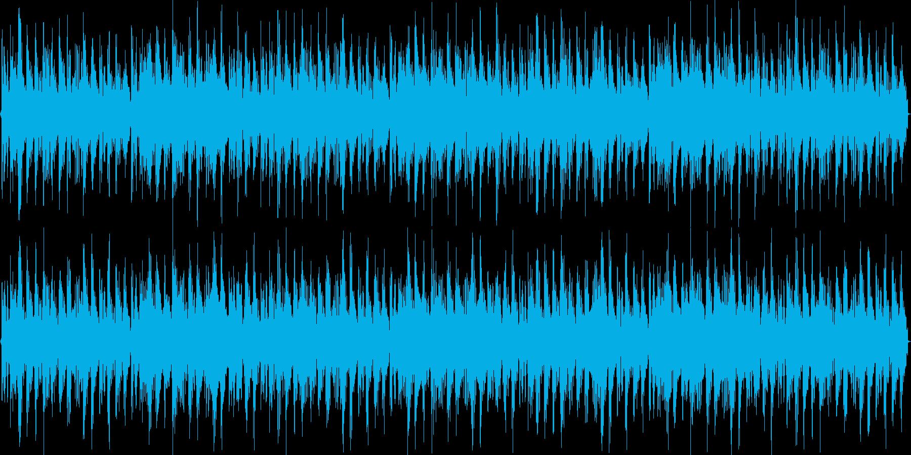 トランスの虜になるループ素材ですの再生済みの波形