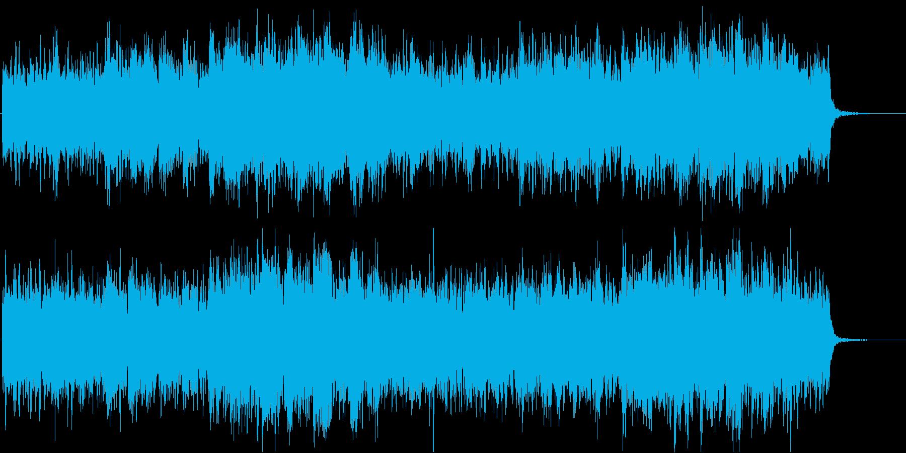 「天にお召されあそばせ」、なピアノ曲の再生済みの波形