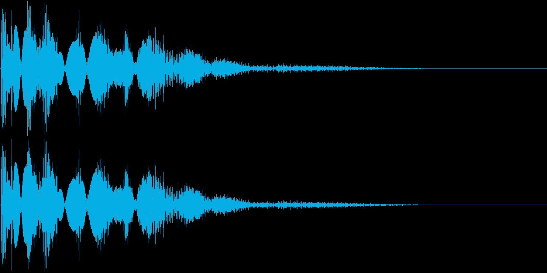 KAKUGE 格闘ゲーム戦闘音 29の再生済みの波形