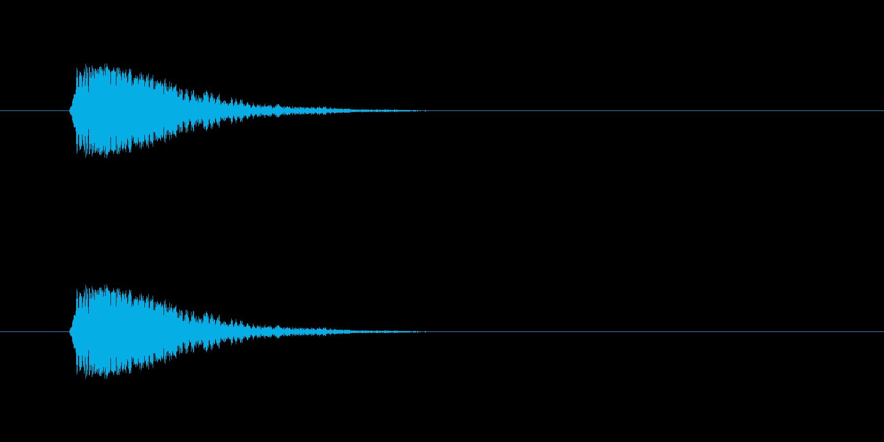 金属音1【キーン】の再生済みの波形