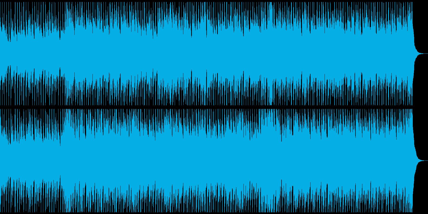底抜けに明るく笑顔になるウクレレポップの再生済みの波形