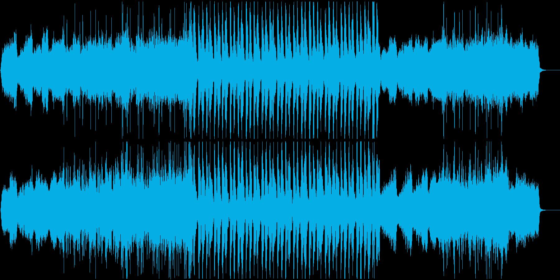 暗く力強い*ロック調*ストリングスの再生済みの波形