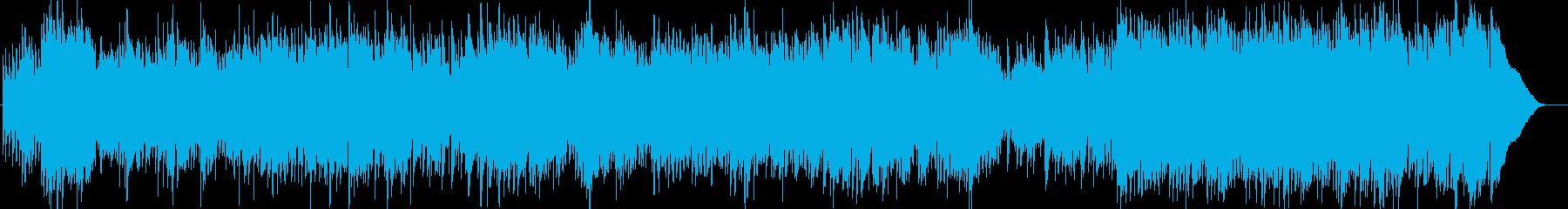 軽やかなオープニングテーマに相応しい曲…の再生済みの波形