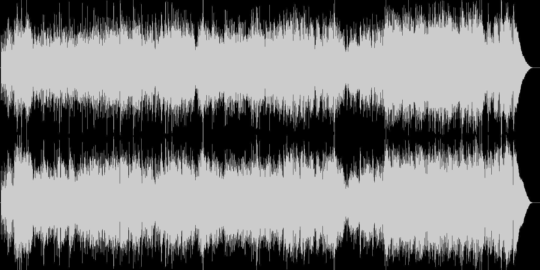 軽やかなオープニングテーマに相応しい曲…の未再生の波形