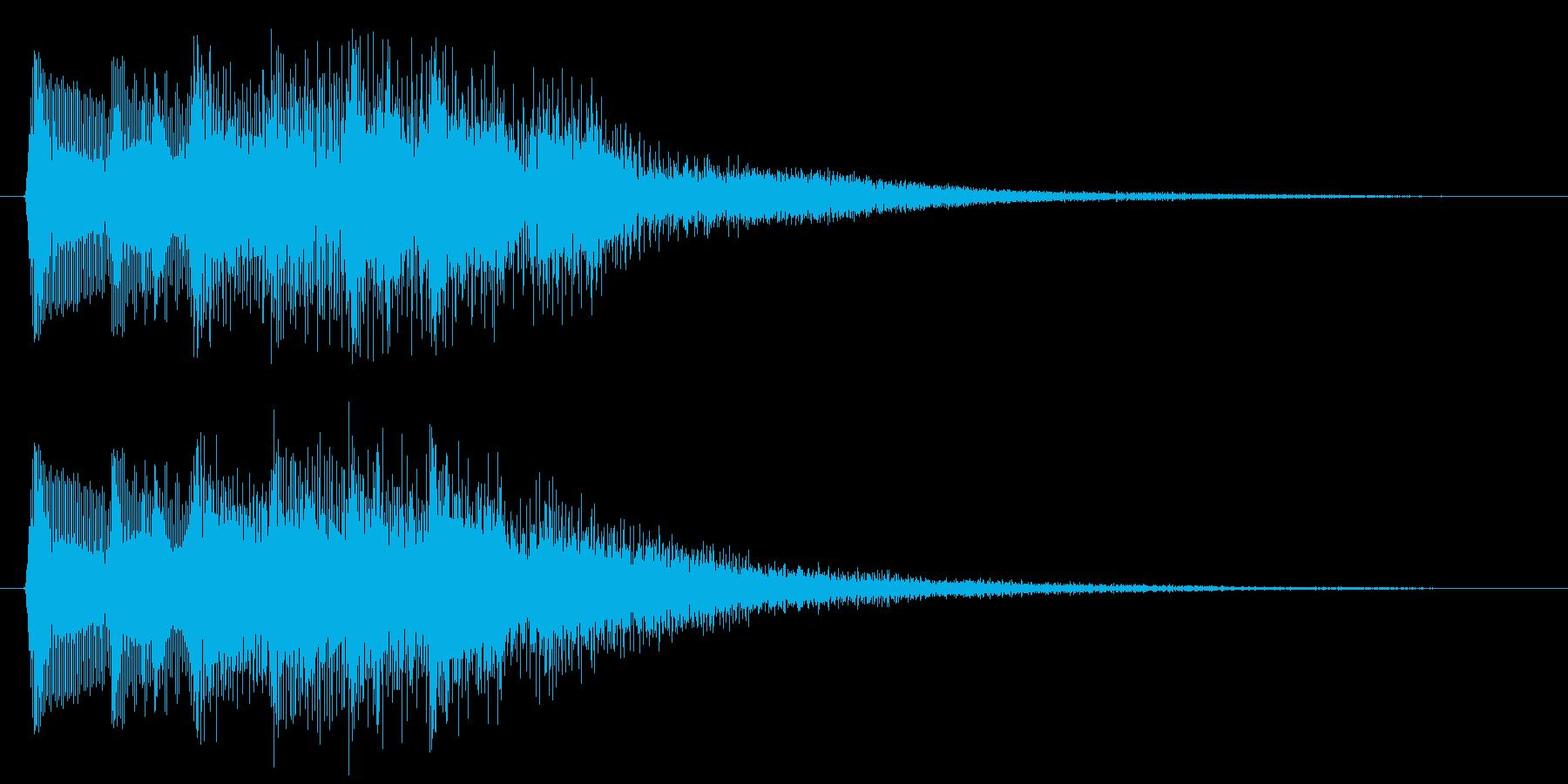 8bitなパワーアップ音 やったー 回復の再生済みの波形