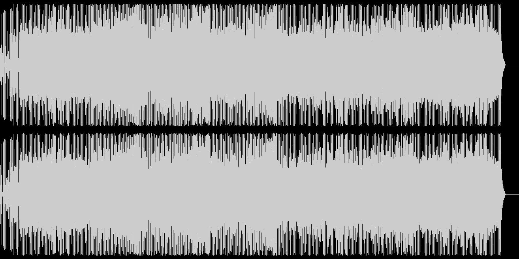 オープニング 元気 PR いきいき 感動の未再生の波形