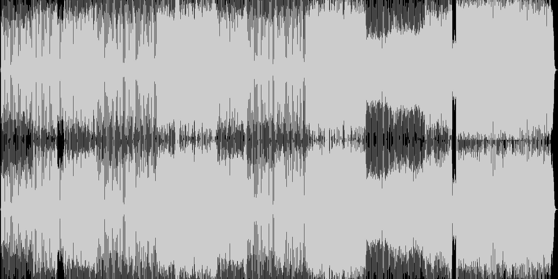 UKテイストのギターロックの未再生の波形
