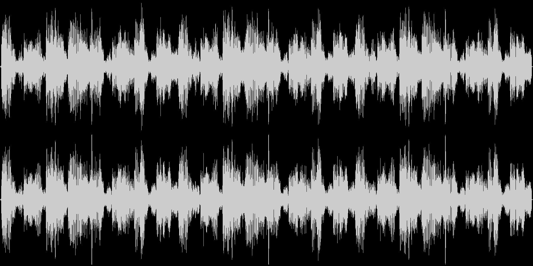 ダンスナンバーのハウストラックの未再生の波形