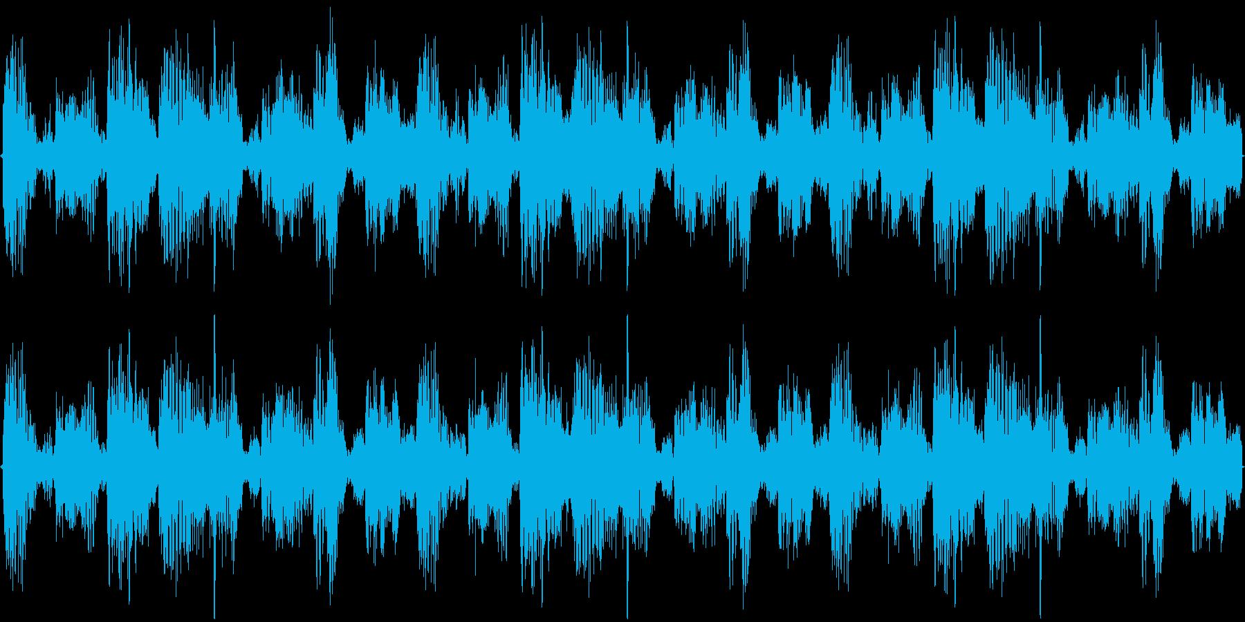 ダンスナンバーのハウストラックの再生済みの波形