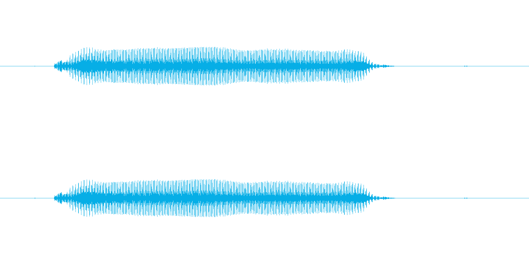 ぶーの再生済みの波形