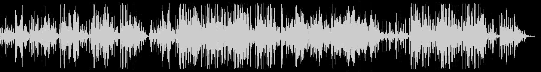 Greensleeves (piano)の未再生の波形