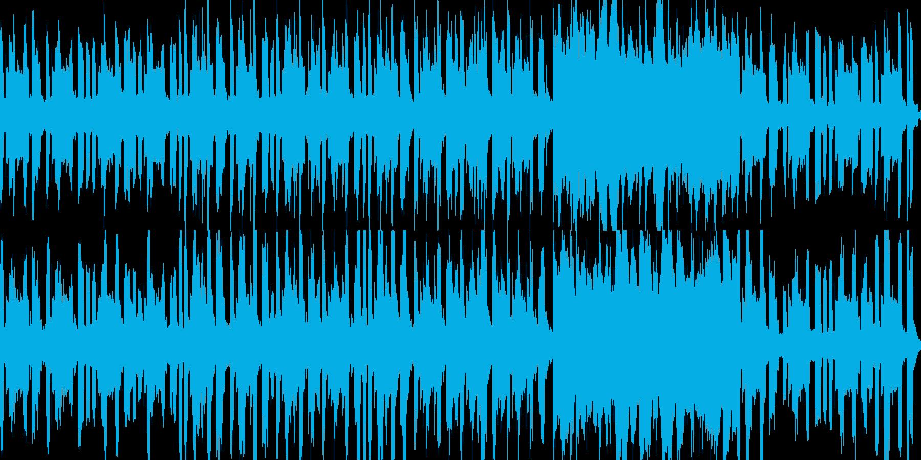 のほほん・ふわふわ・癖になるループ素材の再生済みの波形