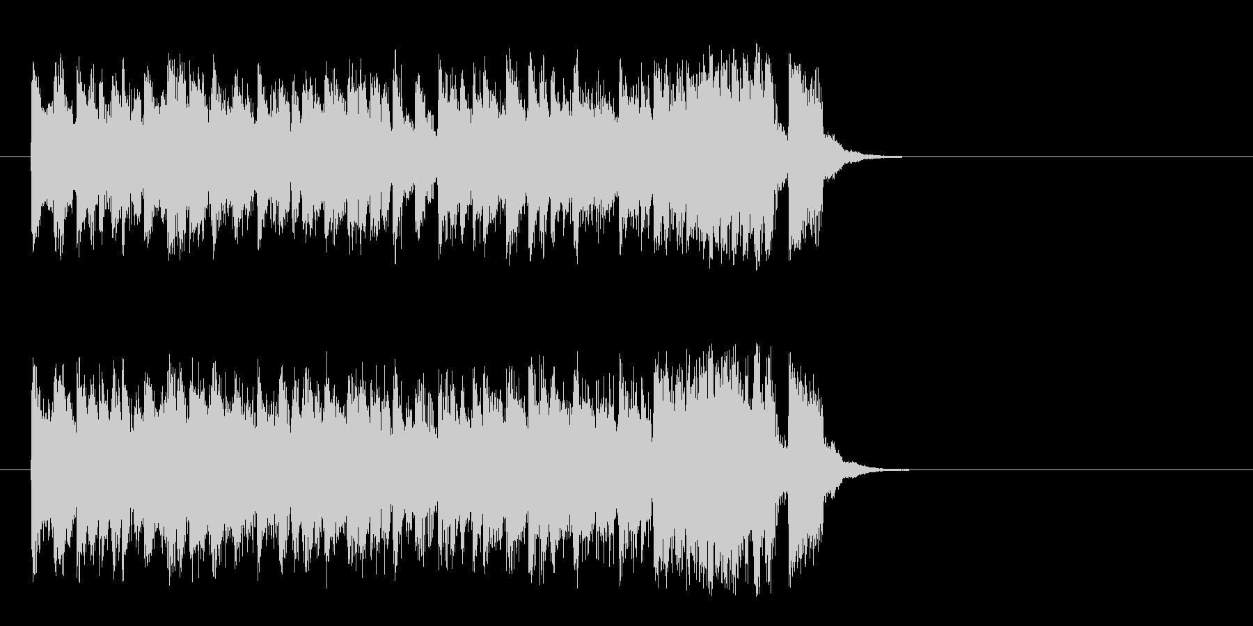 ハツラツな8ビートポップ(サビ)の未再生の波形