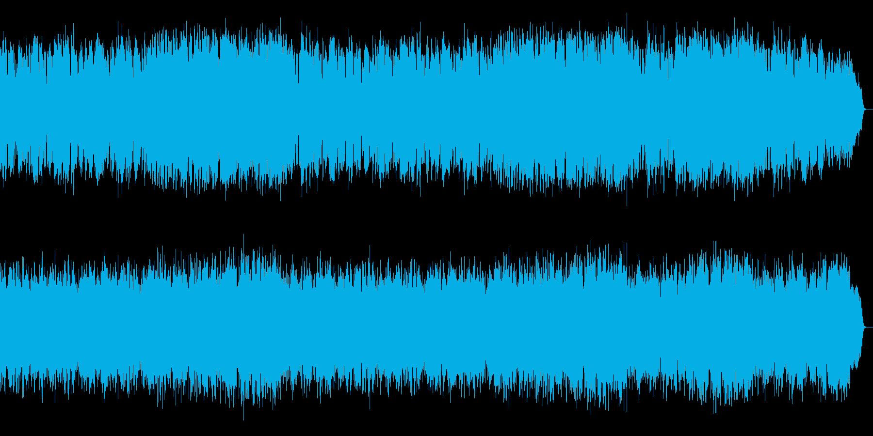ワルツのリズムに切なくメロディックな旋律の再生済みの波形