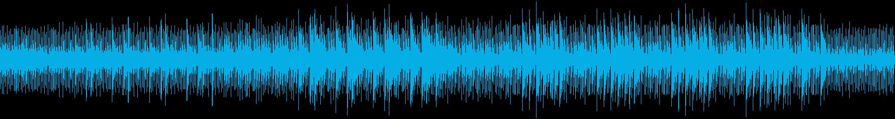 【ループ可】マリンバ主体のミニマル音楽の再生済みの波形