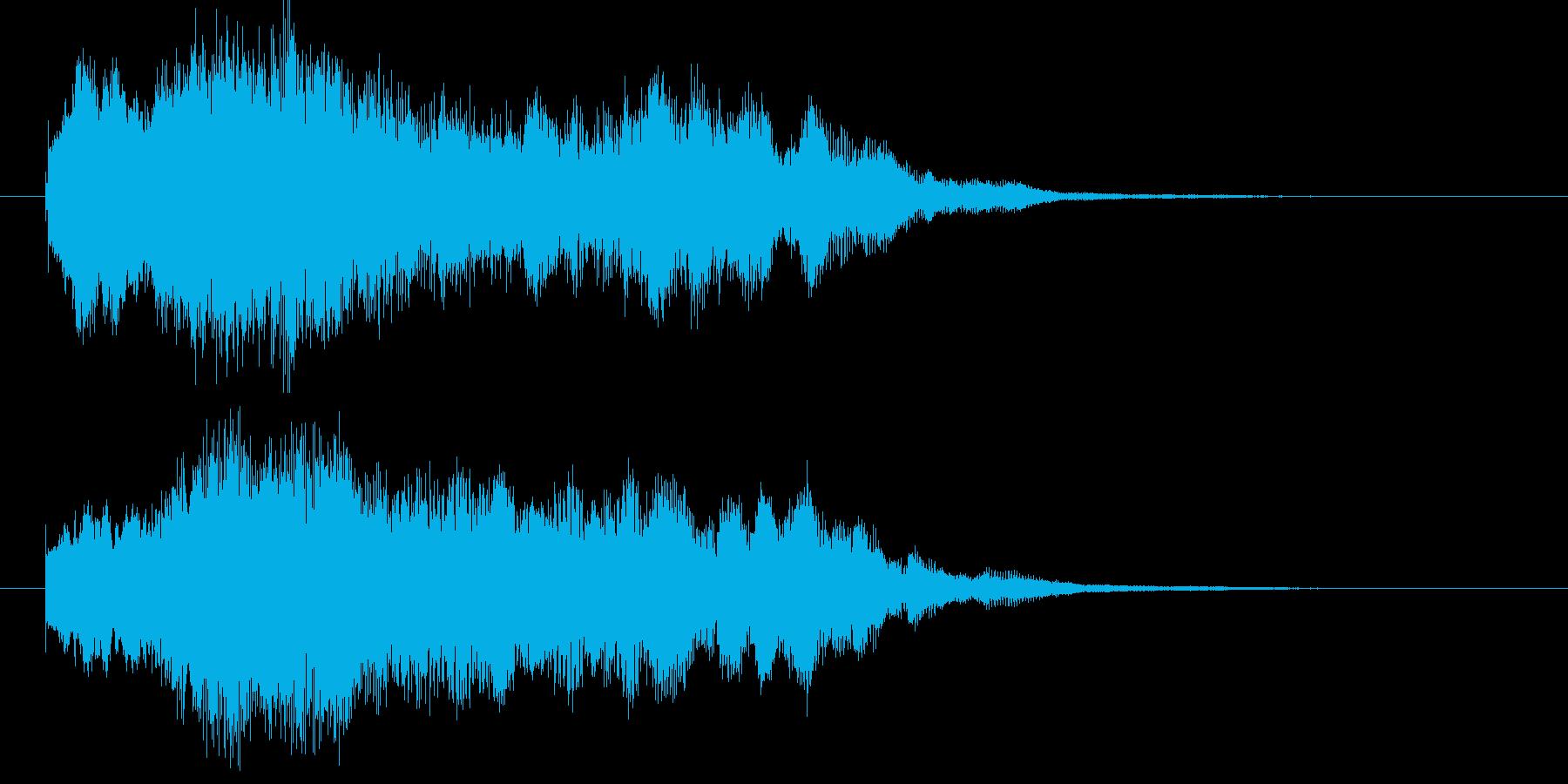 ゲームオーバー ファンタジー 宇宙の再生済みの波形