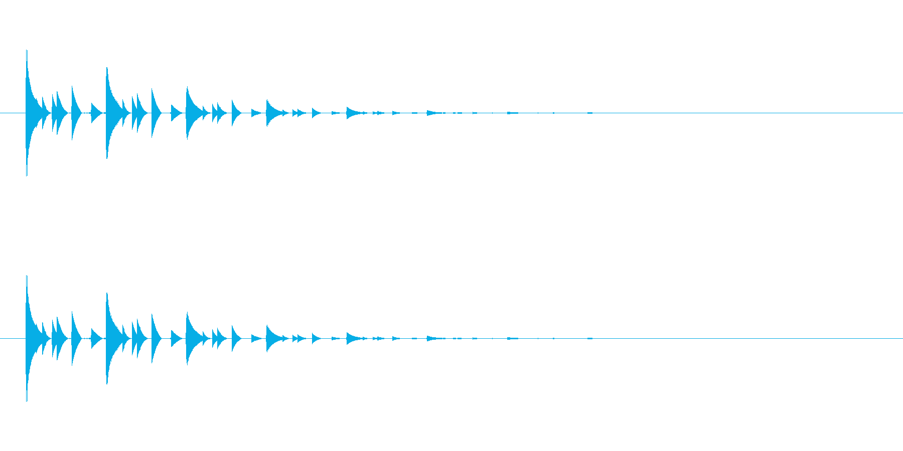 【アクセント16-3】の再生済みの波形