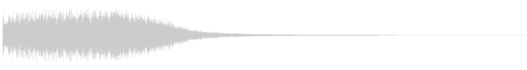 ギュイーン(甲高い細かい集合音)の未再生の波形