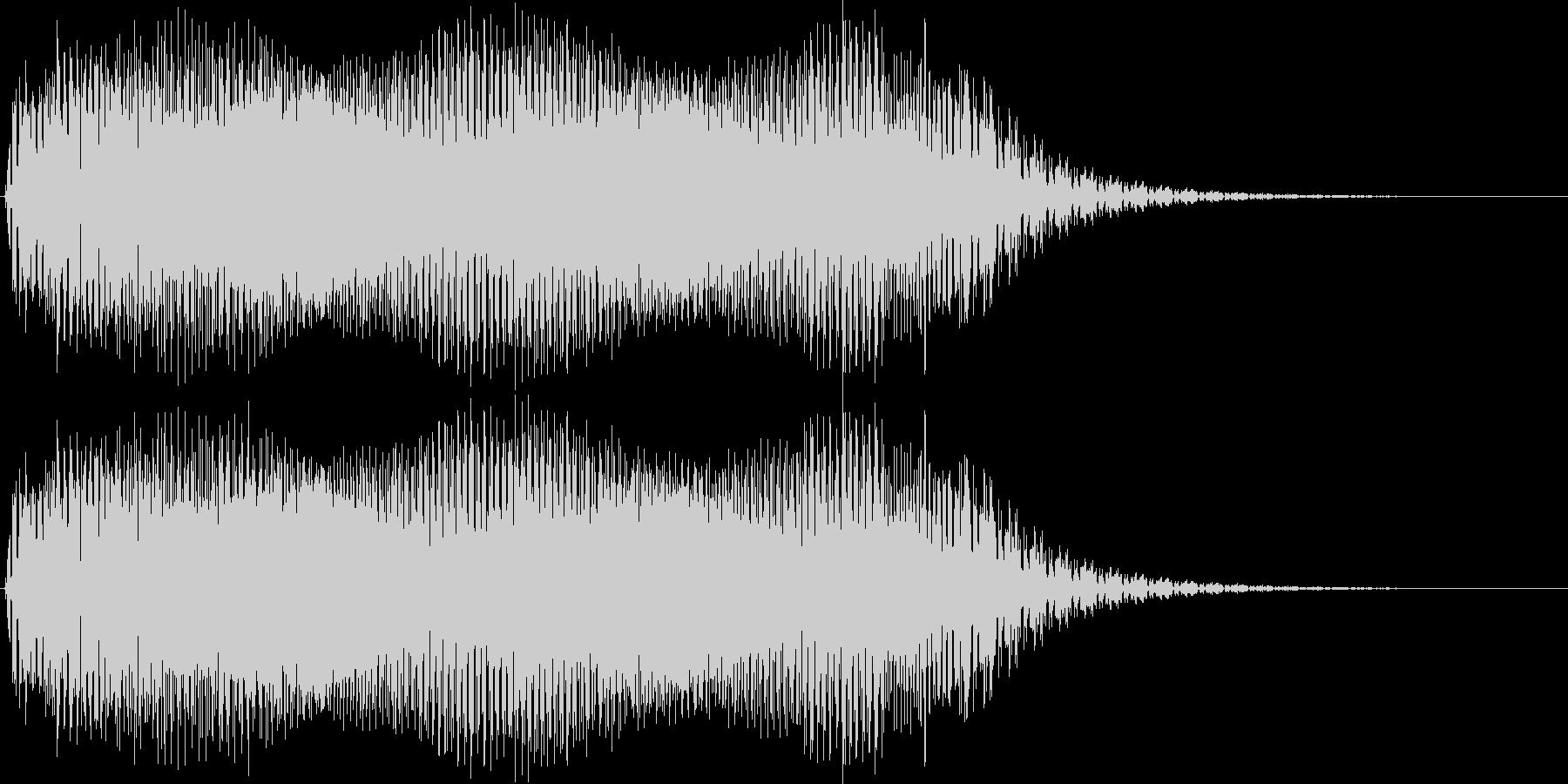 ギュイーン。ロボット・機械動作音(長め)の未再生の波形
