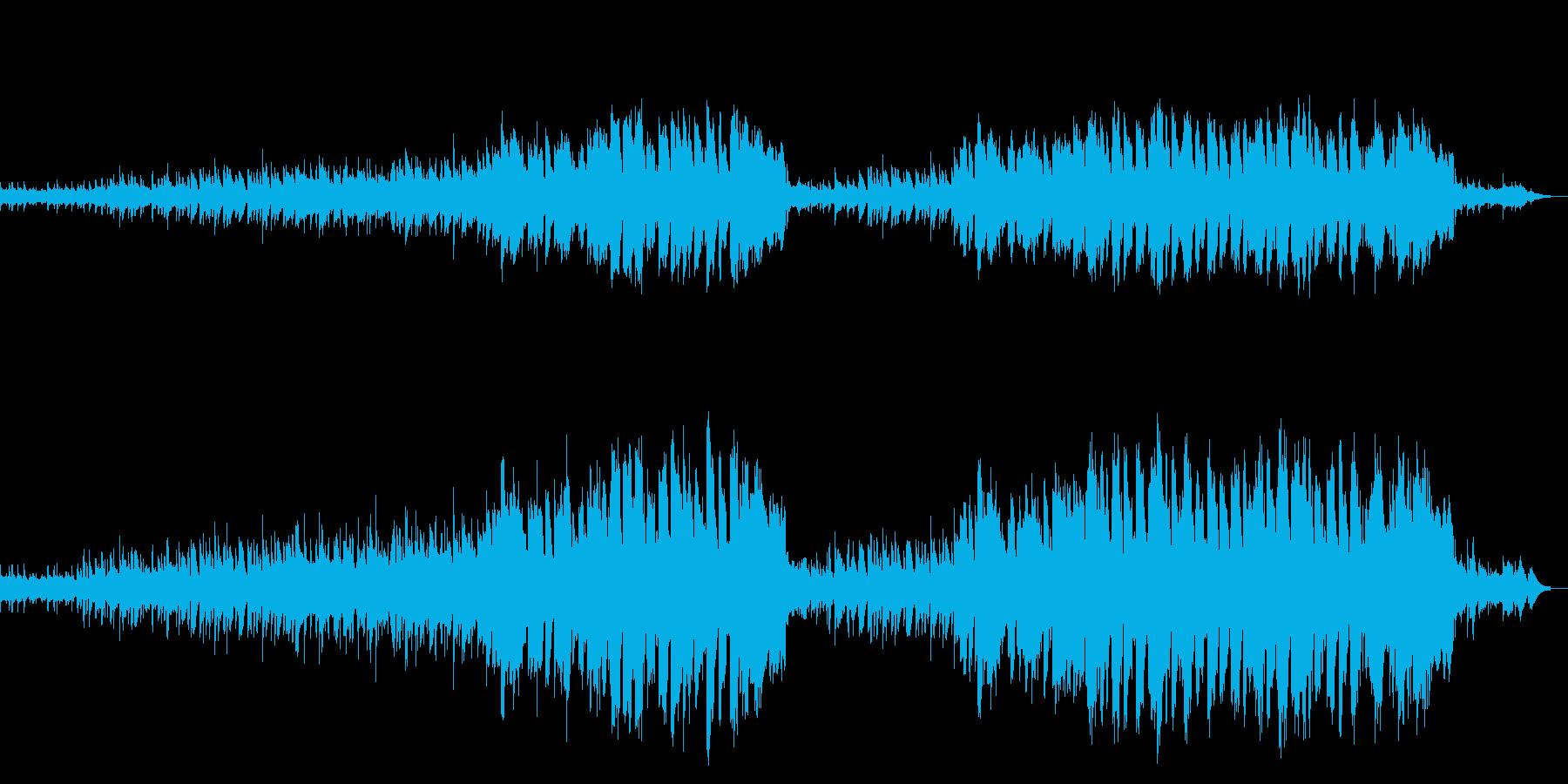 荒野に合いそうなBGMの再生済みの波形