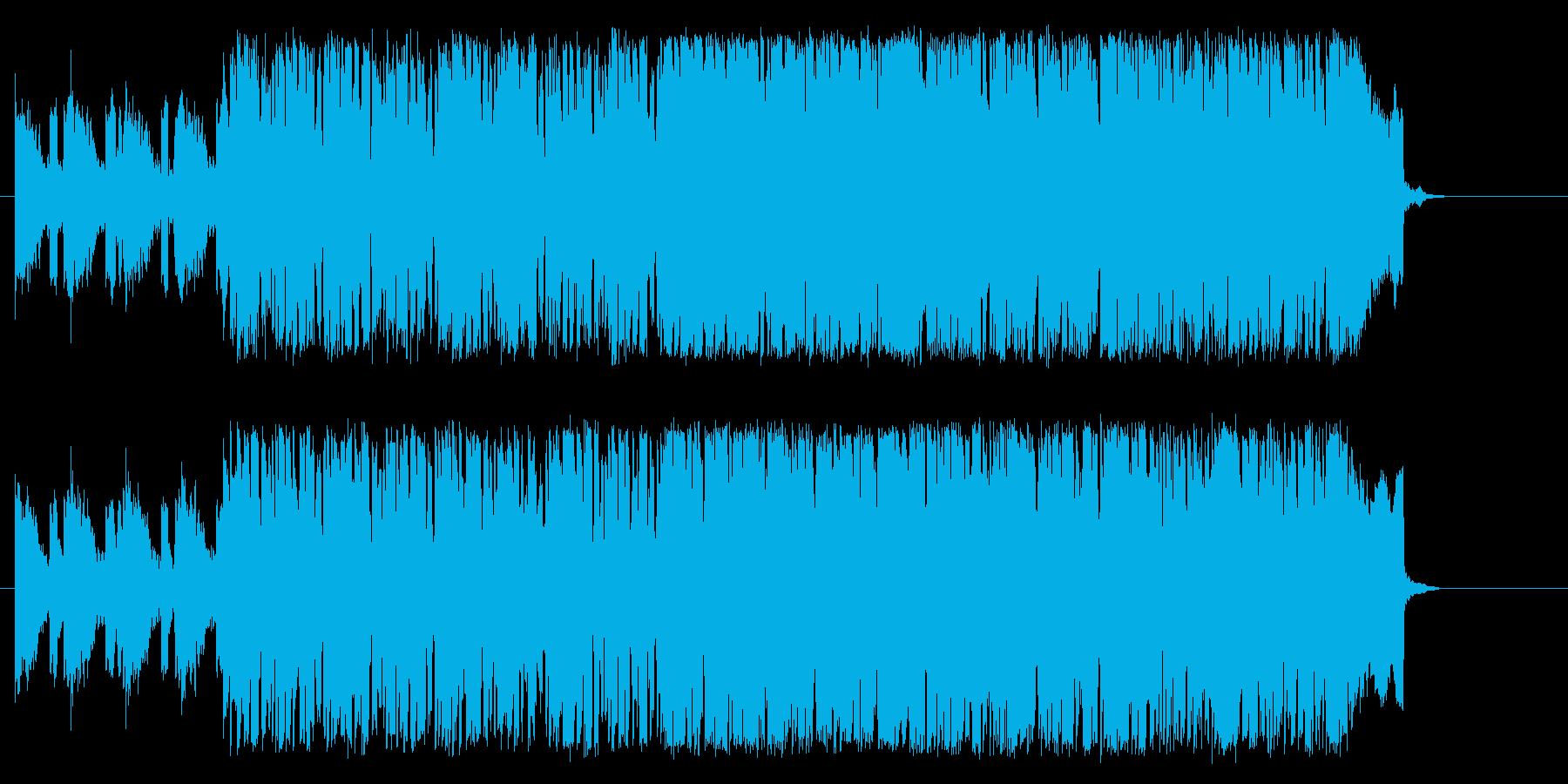 機械的 ドキュメント 報道 登場の再生済みの波形