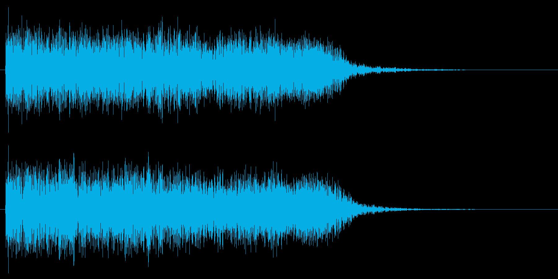 メタルギターフレーズ クラシカルでクールの再生済みの波形