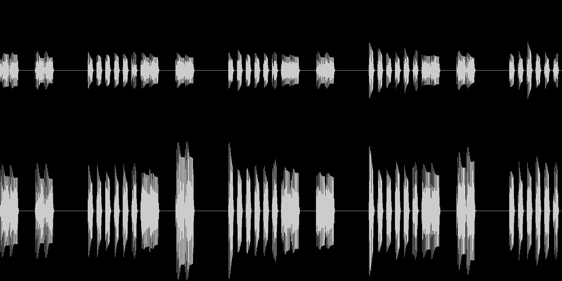 SFX ブクブクループの未再生の波形
