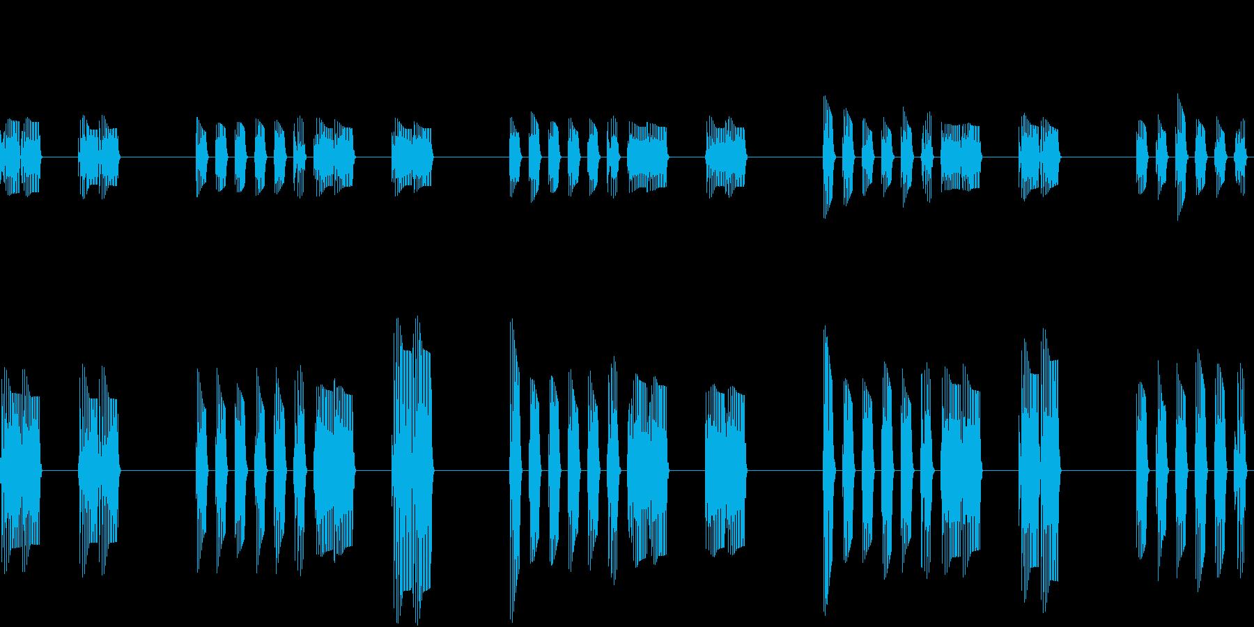 SFX ブクブクループの再生済みの波形