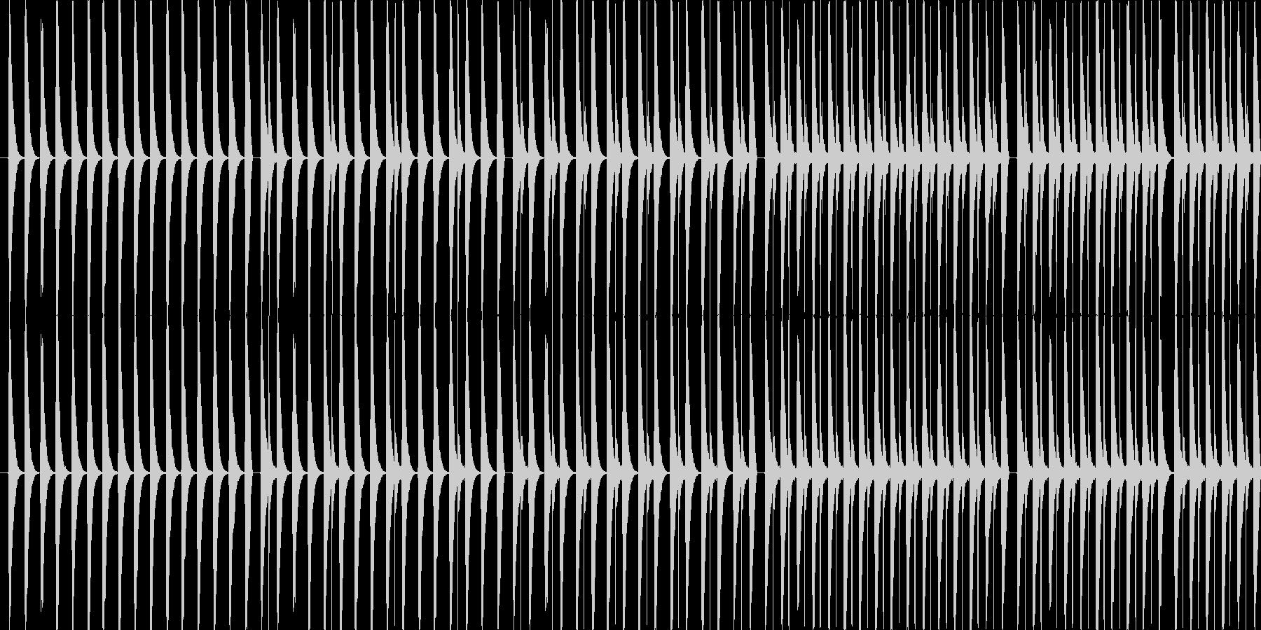 【お散歩/わくわくなポップス】の未再生の波形