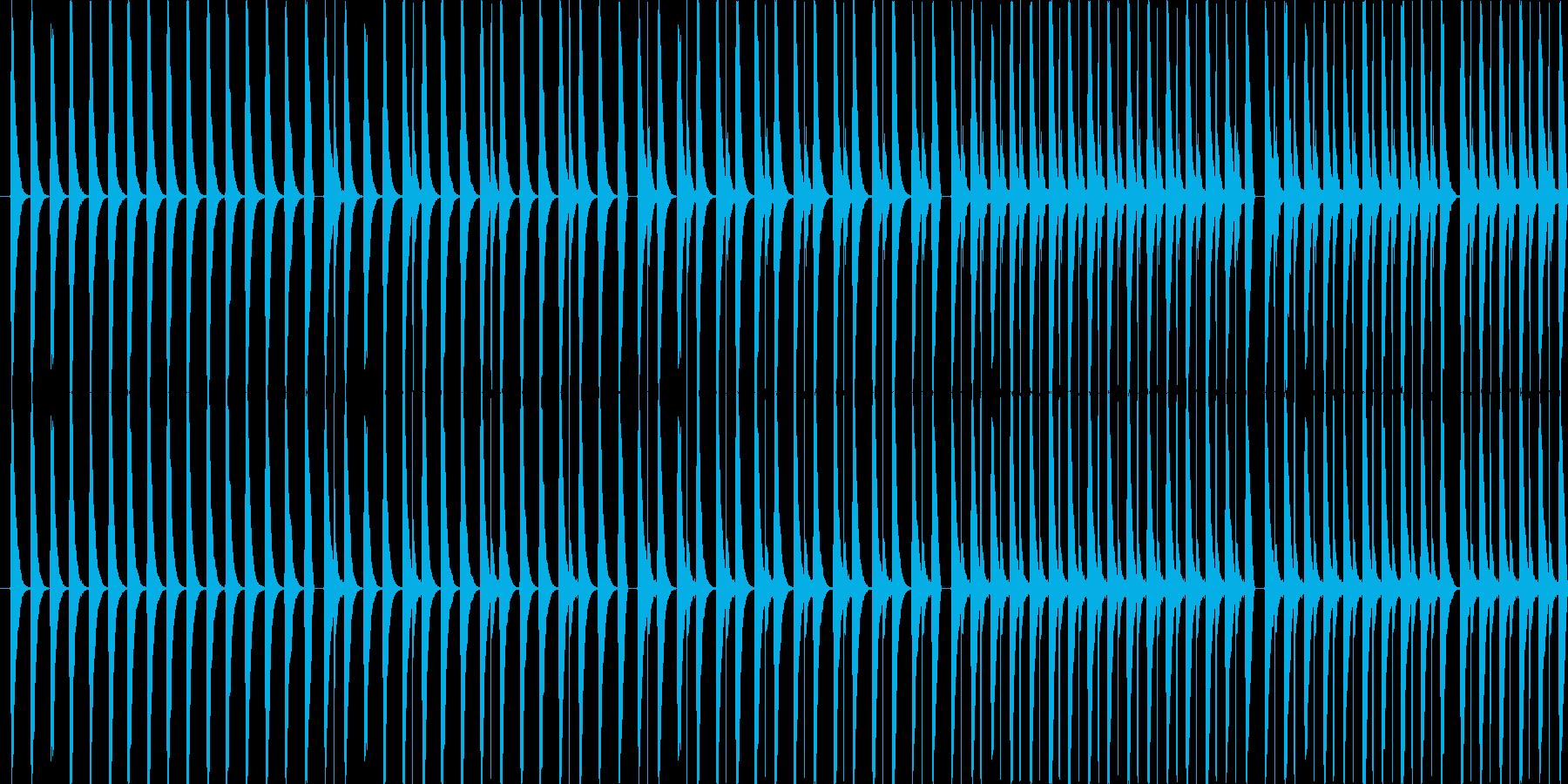 【お散歩/わくわくなポップス】の再生済みの波形