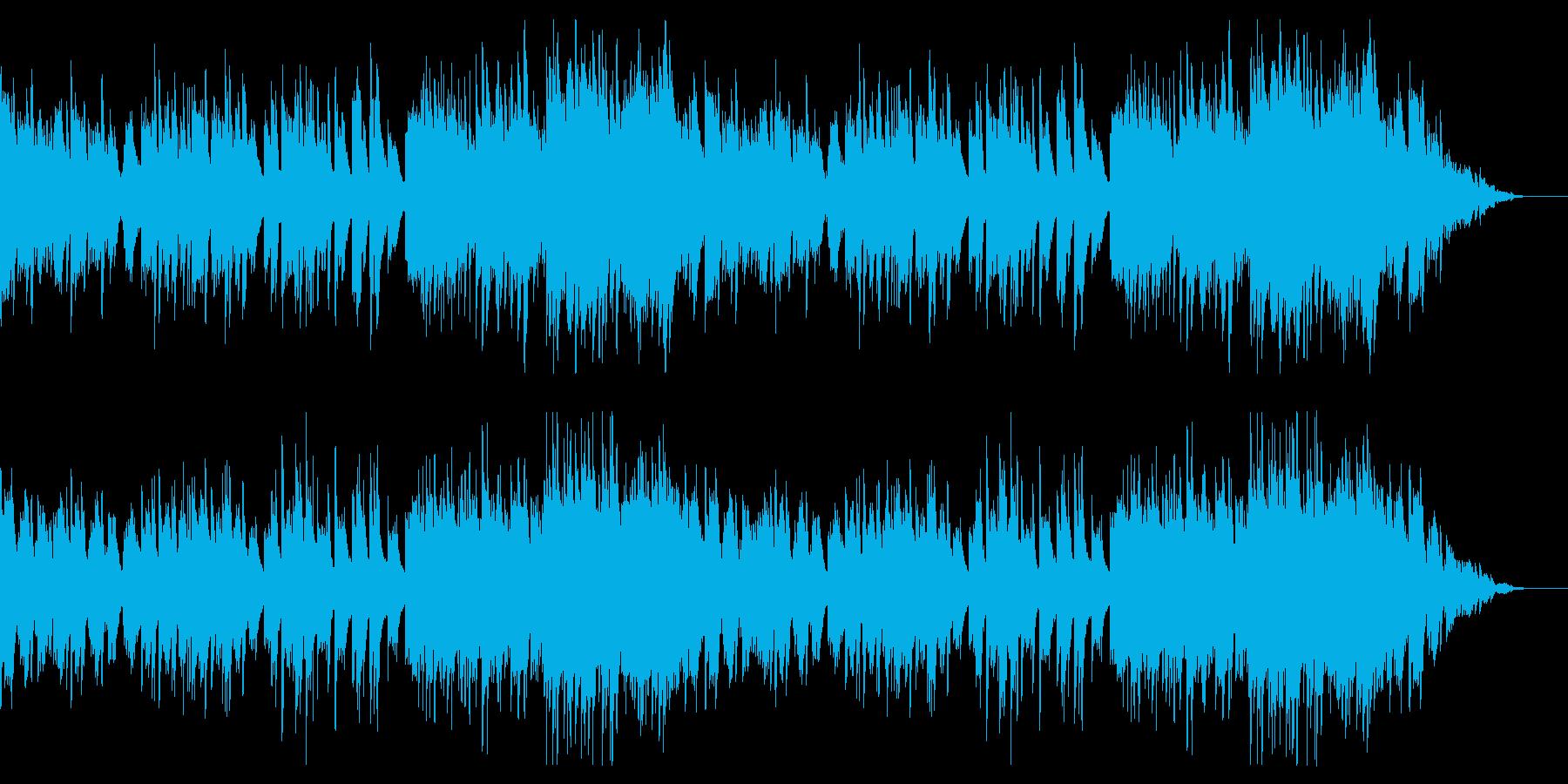 【ピアノソロ】ピアノメインの感動的な曲の再生済みの波形