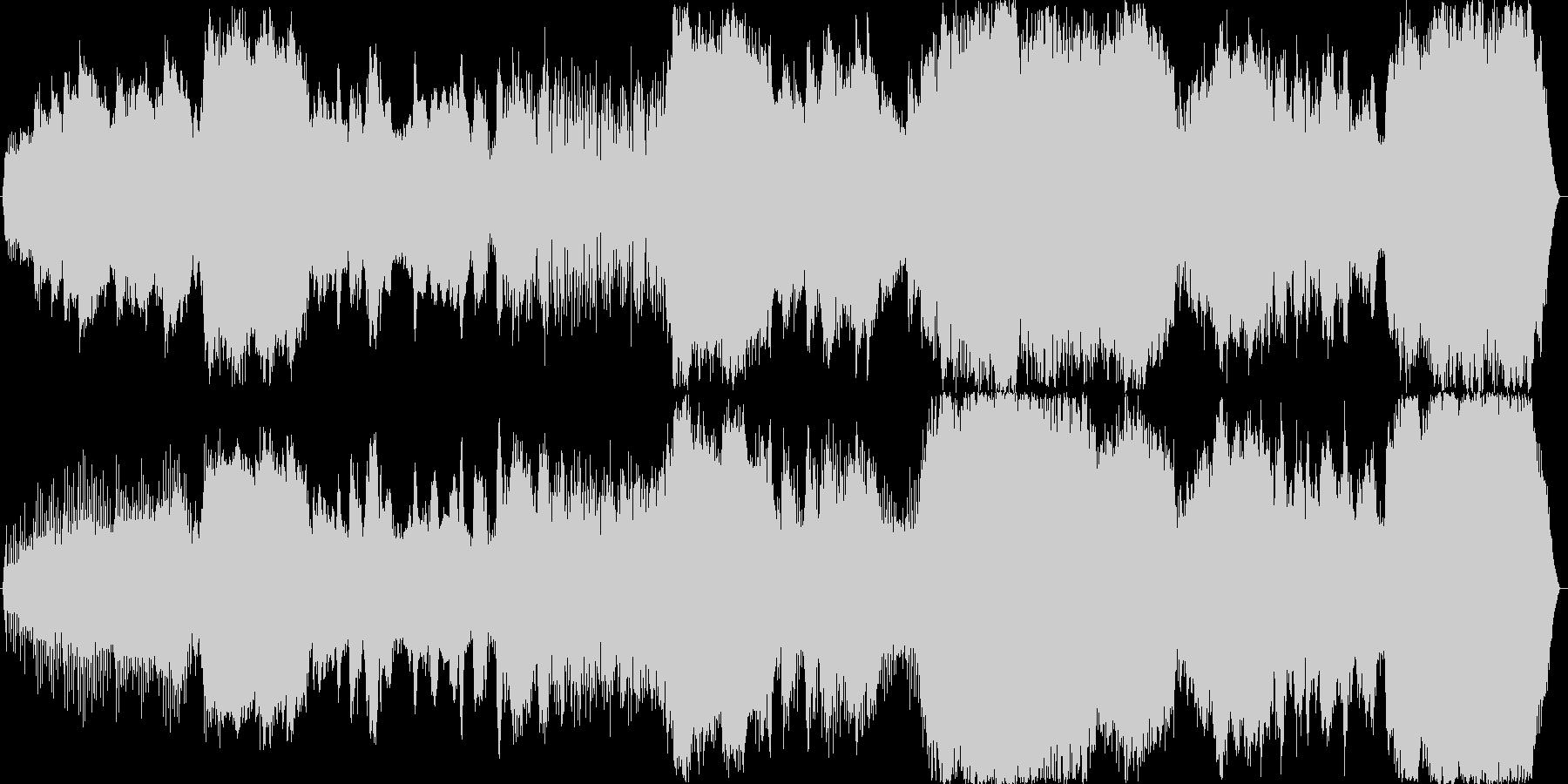 恐怖…恐怖…恐怖……。24bit,48…の未再生の波形