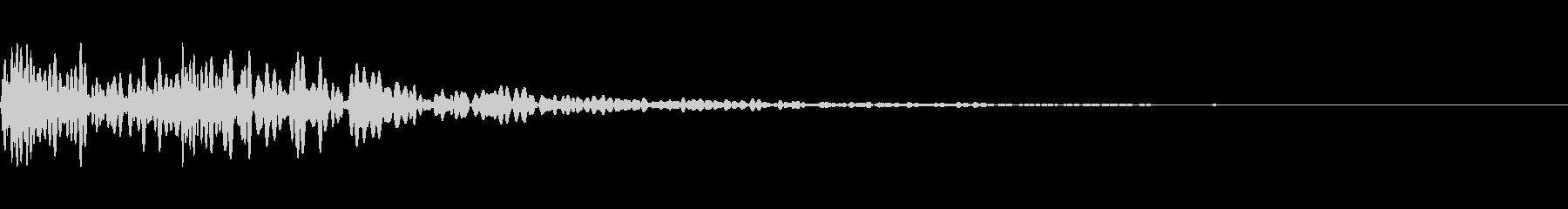 ドックン(心臓、心音、鼓動)の未再生の波形