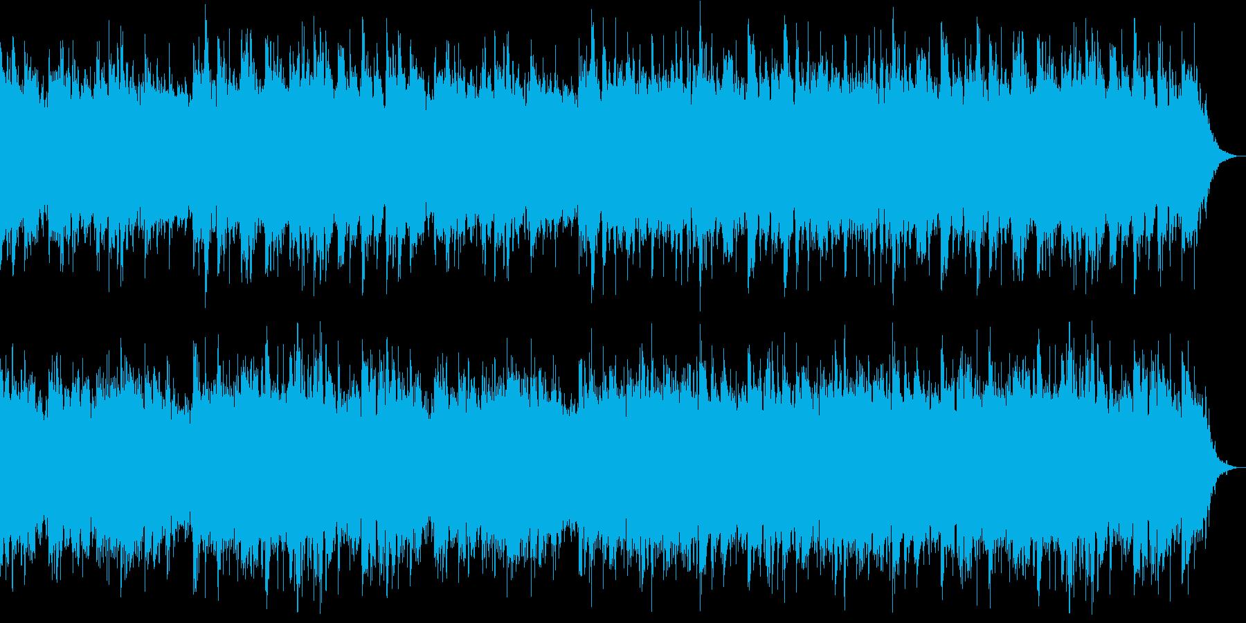 宇宙空間をイメージしたアンビエントの再生済みの波形