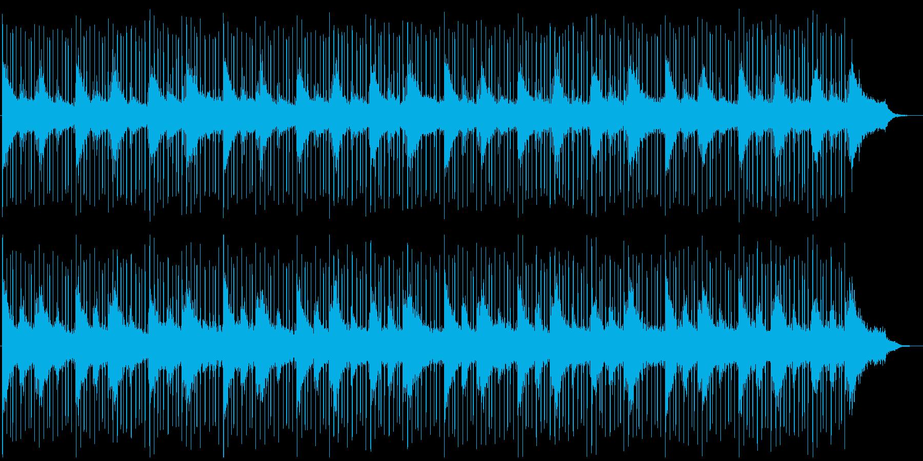 ループ系の使いやすいBGM(ベースなし)の再生済みの波形