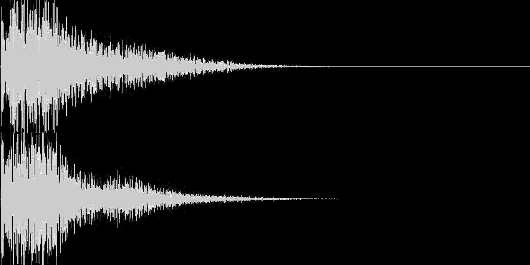 ジャラーン(決定音、起動音、ゲーム等に)の未再生の波形