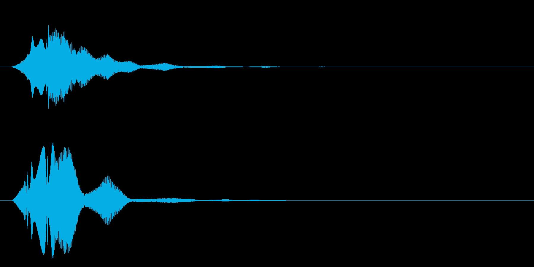 フィヨンーの再生済みの波形