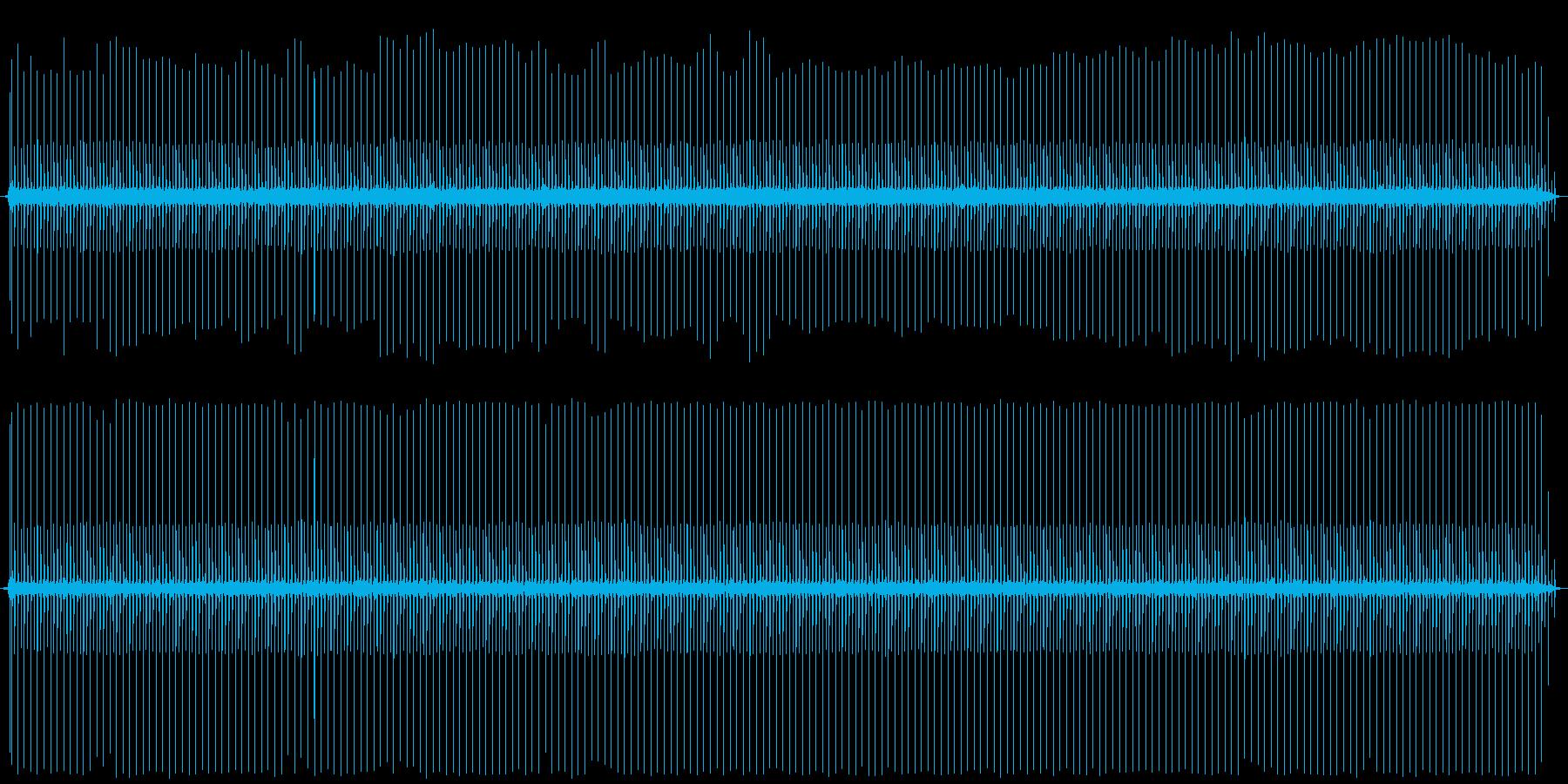 【アンプノイズ/ジー/ジジジジ】の再生済みの波形
