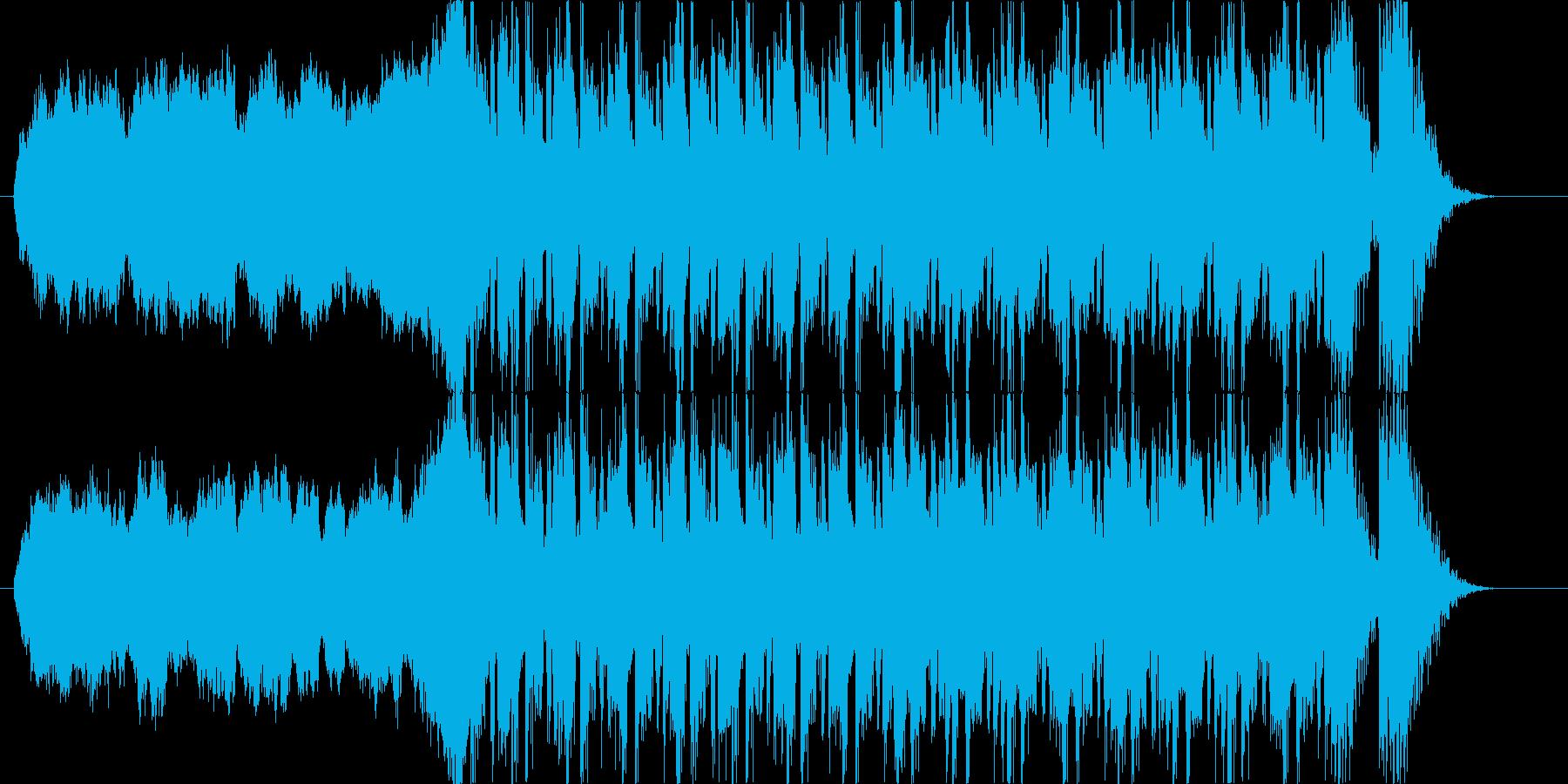 悲壮感 ドラマティック シネマティックの再生済みの波形