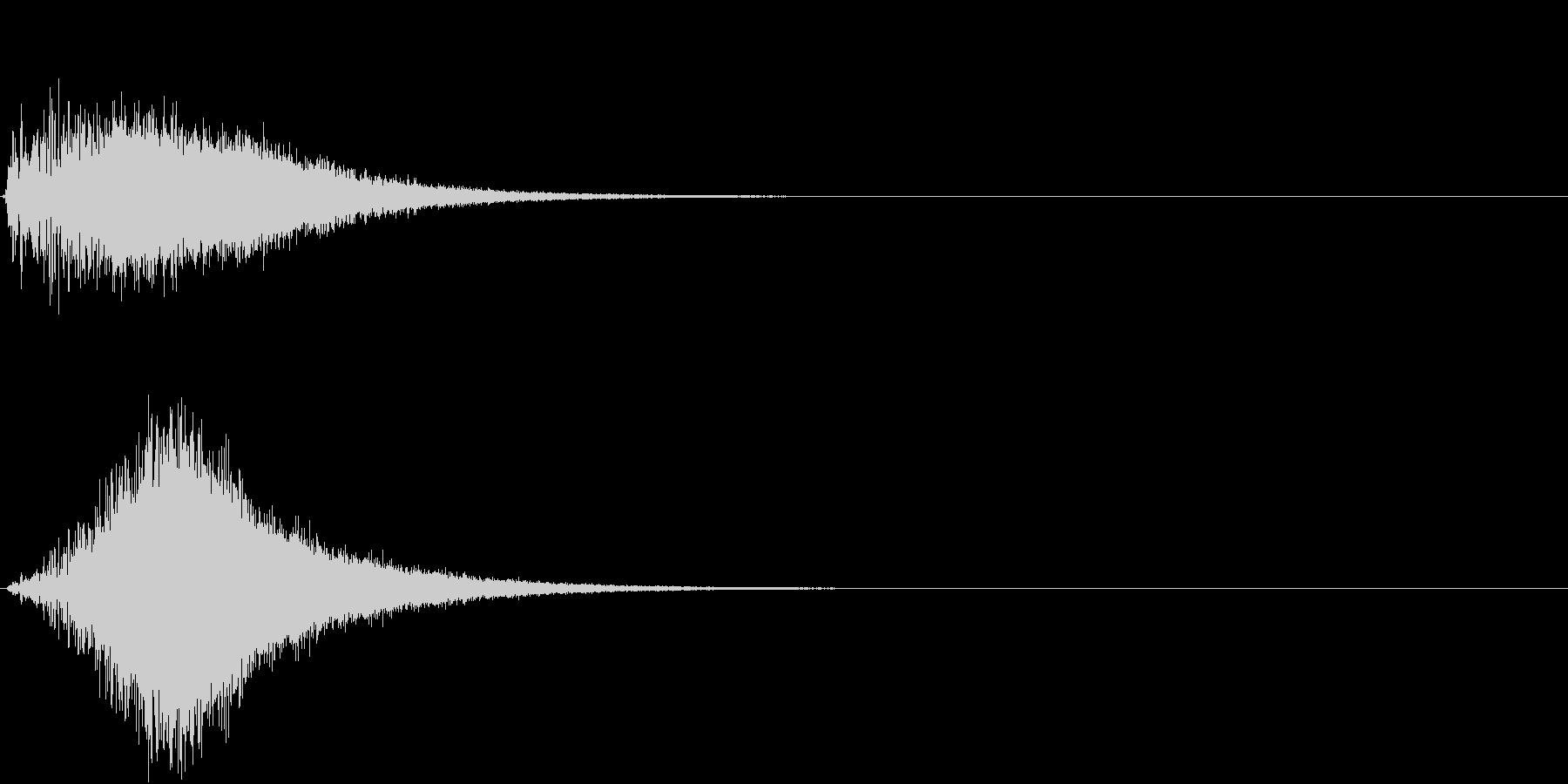 TV SFX 場面切替 目立たせ 注目の未再生の波形