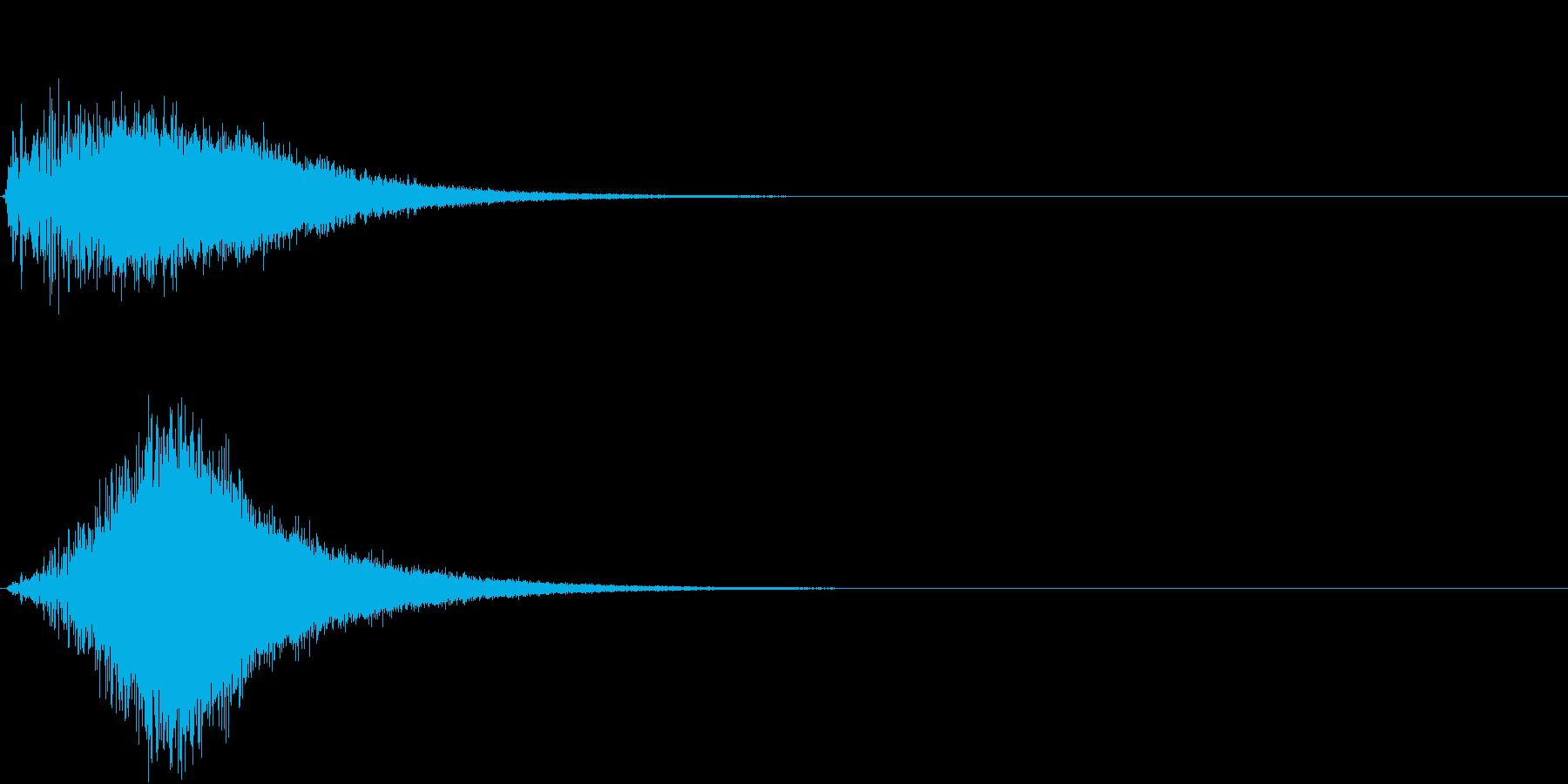 TV SFX 場面切替 目立たせ 注目の再生済みの波形