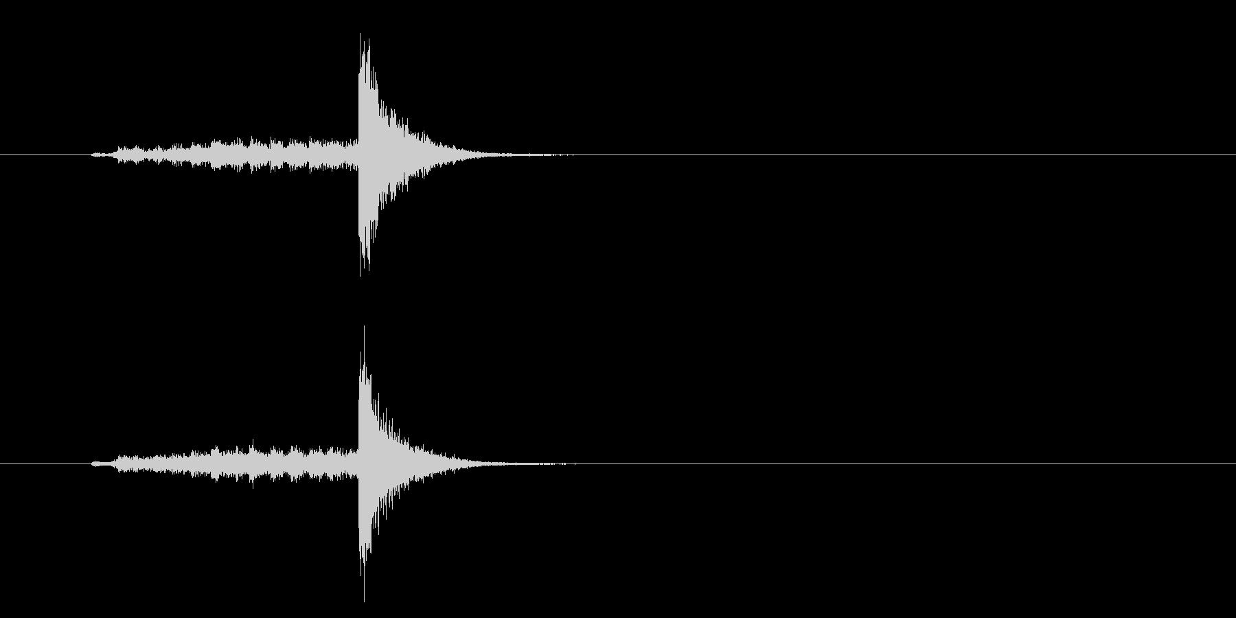 タンバリンロール☆ロングの未再生の波形